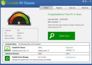 OneSafe PC Cleaner Pro 7.4.0 Crack + Keygen Latest version 2020